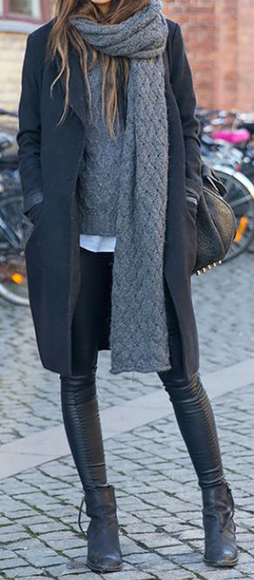 Fashionable outfit style for winter 2017 30