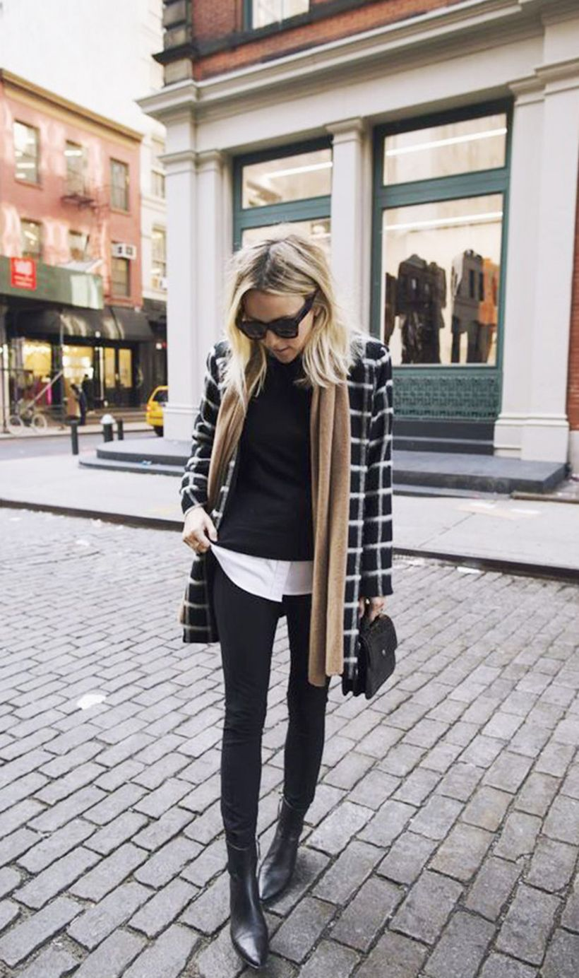 Fashionable outfit style for winter 2017 31