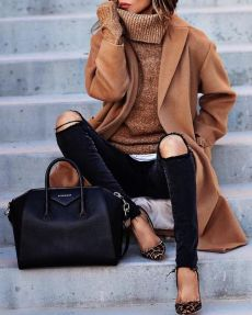 Fashionable outfit style for winter 2017 35