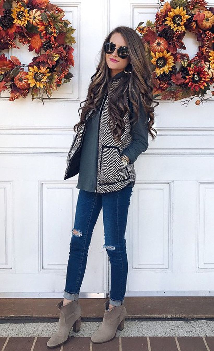 Fashionable outfit style for winter 2017 4