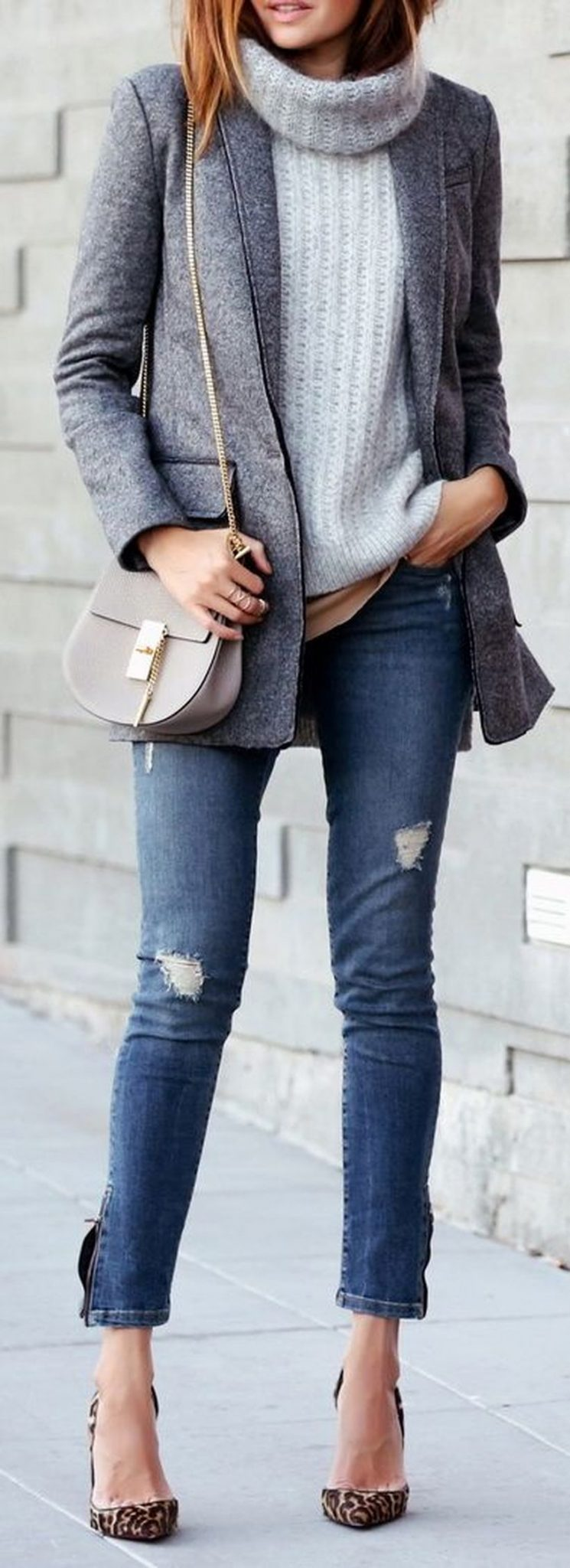 Fashionable outfit style for winter 2017 51