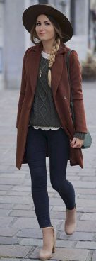 Fashionable outfit style for winter 2017 67