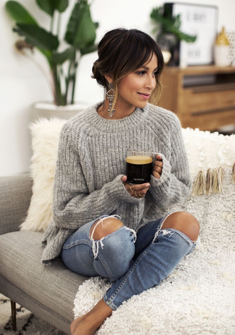 Fashionable outfit style for winter 2017 79