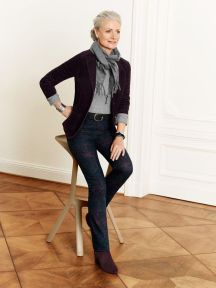 Fashionable over 50 fall outfits ideas 12