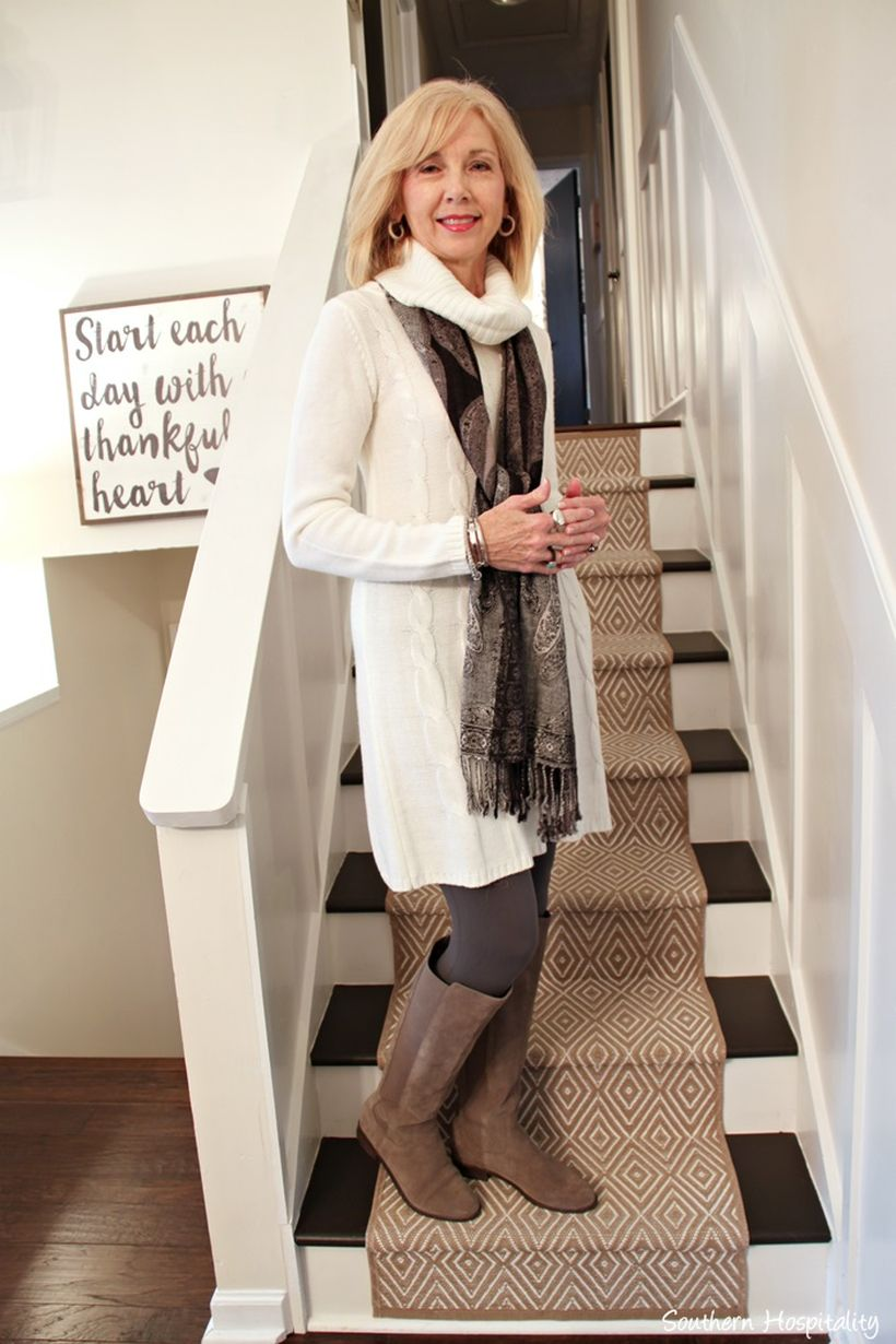 Fashionable over 50 fall outfits ideas 127
