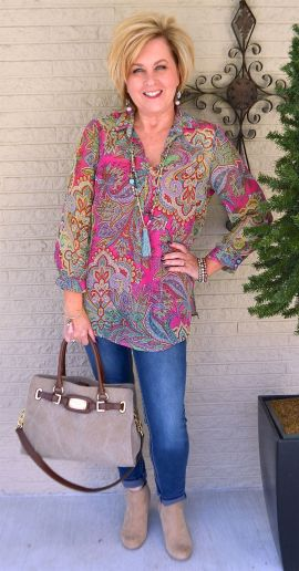 Fashionable over 50 fall outfits ideas 129