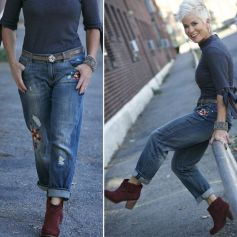 Fashionable over 50 fall outfits ideas 132