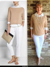 Fashionable over 50 fall outfits ideas 133