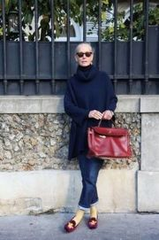 Fashionable over 50 fall outfits ideas 28