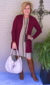 Fashionable over 50 fall outfits ideas 44