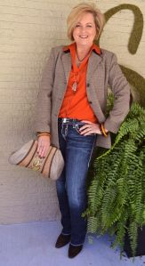 Fashionable over 50 fall outfits ideas 89