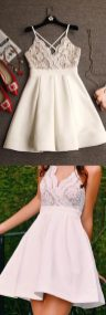 Most cute short white dresses outfits design ideas 52