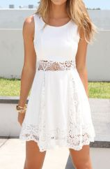 Most cute short white dresses outfits design ideas 66