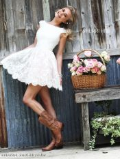 Most cute short white dresses outfits design ideas 97