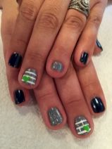 Seahawks nails design 21