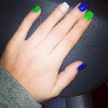 Seahawks nails design 22