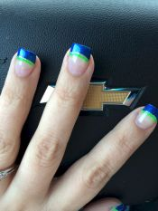Seahawks nails design 29