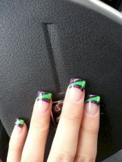 Seahawks nails design 42