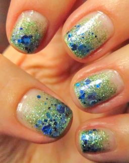 Seahawks nails design 45