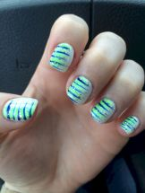 Seahawks nails design 57