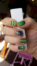 Seahawks nails design 58