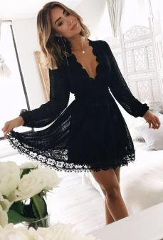 Sexy little black dress that must you have 36
