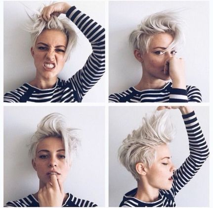 Short messy pixie haircut hairstyle ideas 41