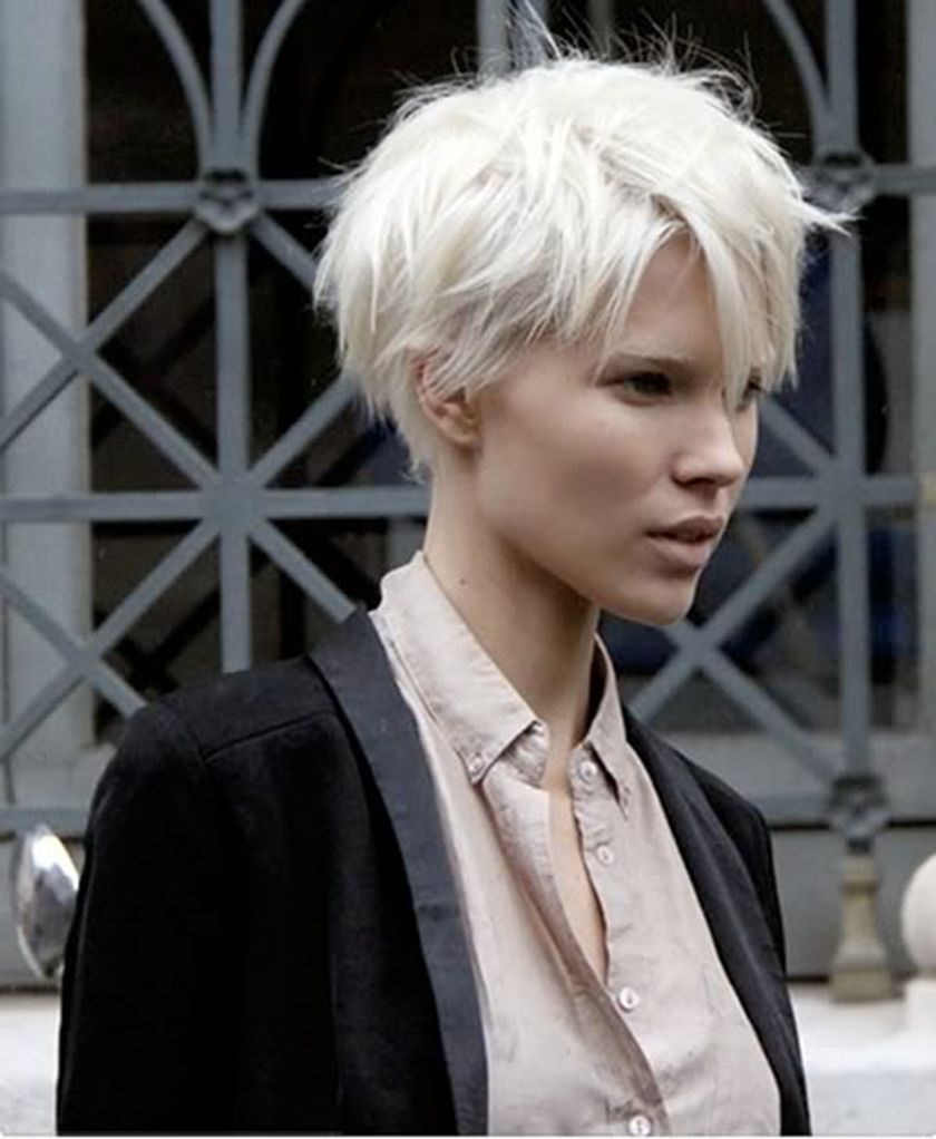 Short messy pixie haircut hairstyle ideas 64