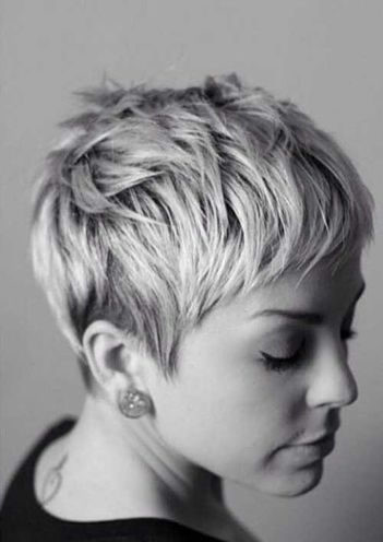 Short messy pixie haircut hairstyle ideas 77
