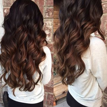Stunning fall hair colors ideas for brunettes 2017 75