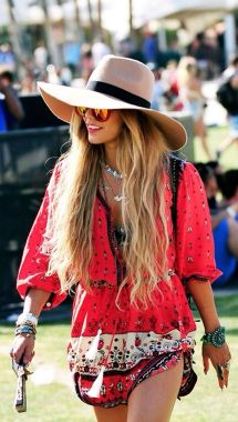 Stylish bohemian boho chic outfits style ideas 113