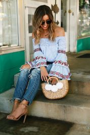 Stylish bohemian boho chic outfits style ideas 3