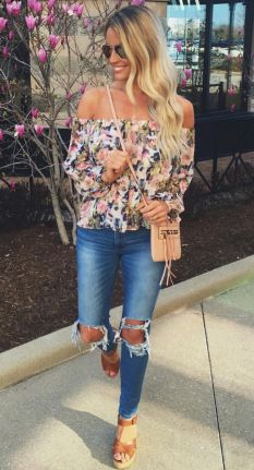 Stylish bohemian boho chic outfits style ideas 40