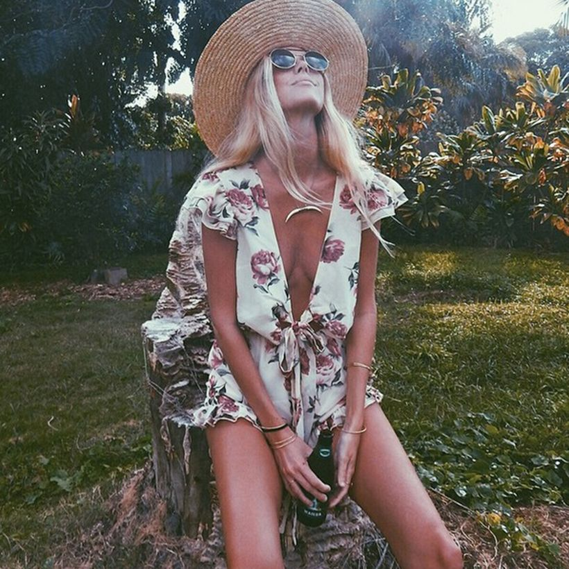 Stylish bohemian boho chic outfits style ideas 44