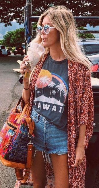 Stylish bohemian boho chic outfits style ideas 72