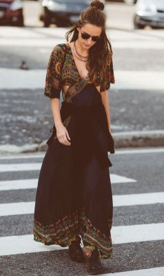 Stylish bohemian boho chic outfits style ideas 88