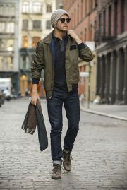 Stylish men's jeans outfits ideas in 2017 11