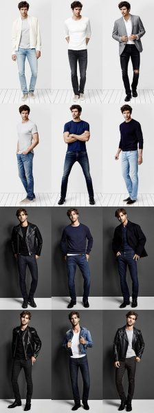 Stylish men's jeans outfits ideas in 2017 13