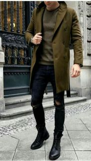Stylish men's jeans outfits ideas in 2017 26
