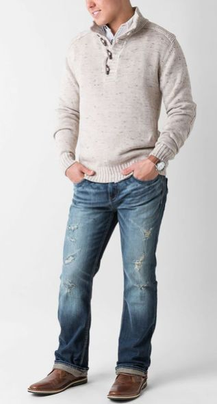 Stylish men's jeans outfits ideas in 2017 29