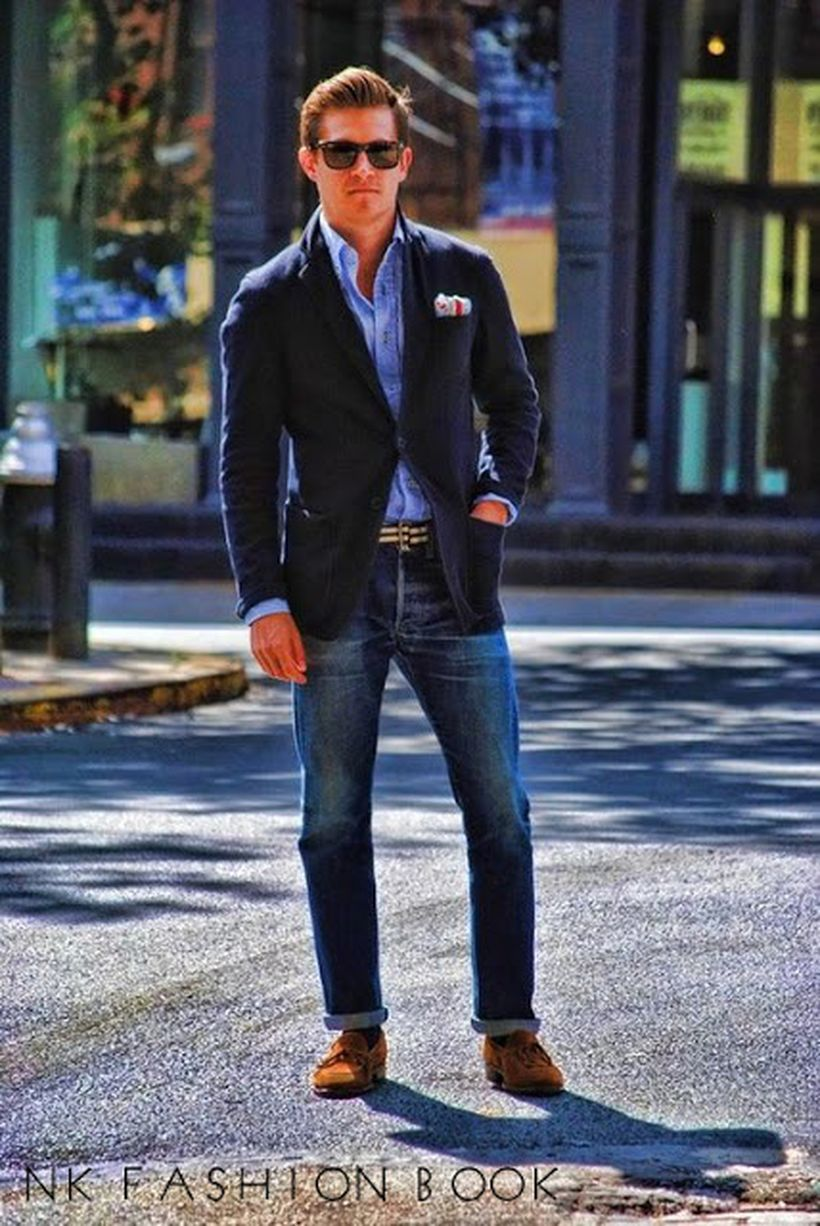 Stylish men's jeans outfits ideas in 2017 4