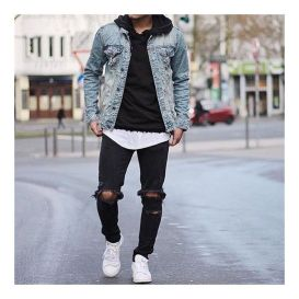 Stylish men's jeans outfits ideas in 2017 52