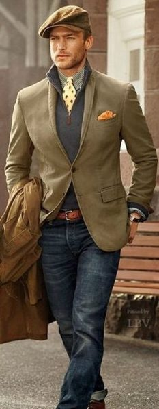 Stylish men's jeans outfits ideas in 2017 55