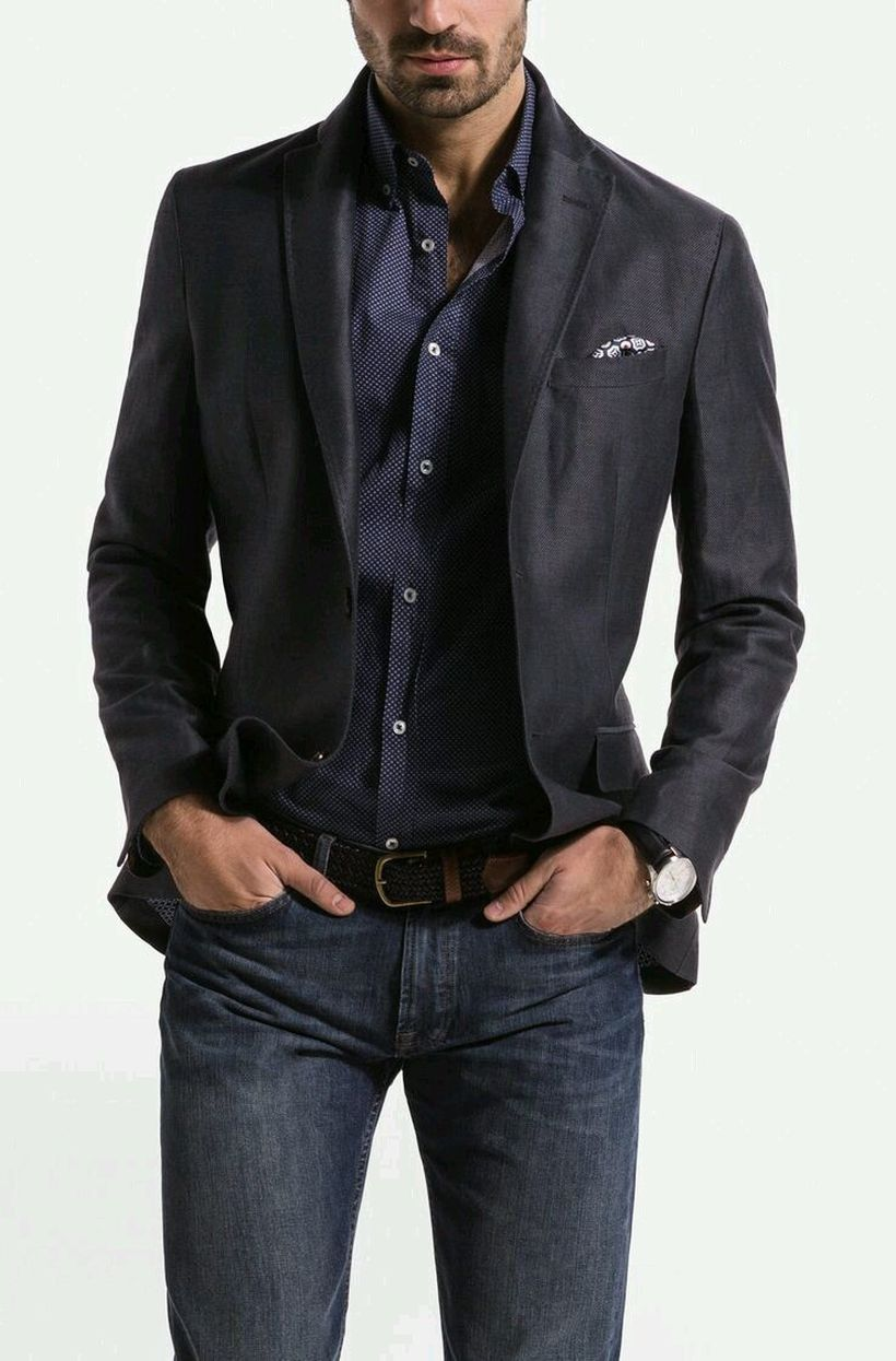 Stylish men's jeans outfits ideas in 2017 6