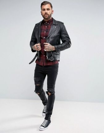 Stylish men's jeans outfits ideas in 2017 75
