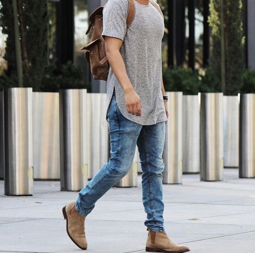 Stylish men's jeans outfits ideas in 2017 8