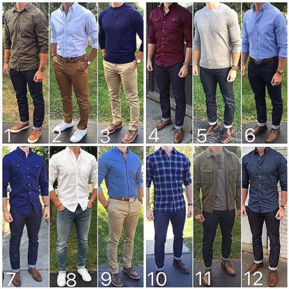 Stylish men's jeans outfits ideas in 2017 87