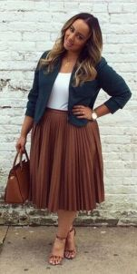 Stylish plus size outfits for winter 2017 104