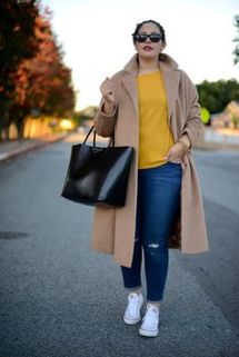 Stylish plus size outfits for winter 2017 109