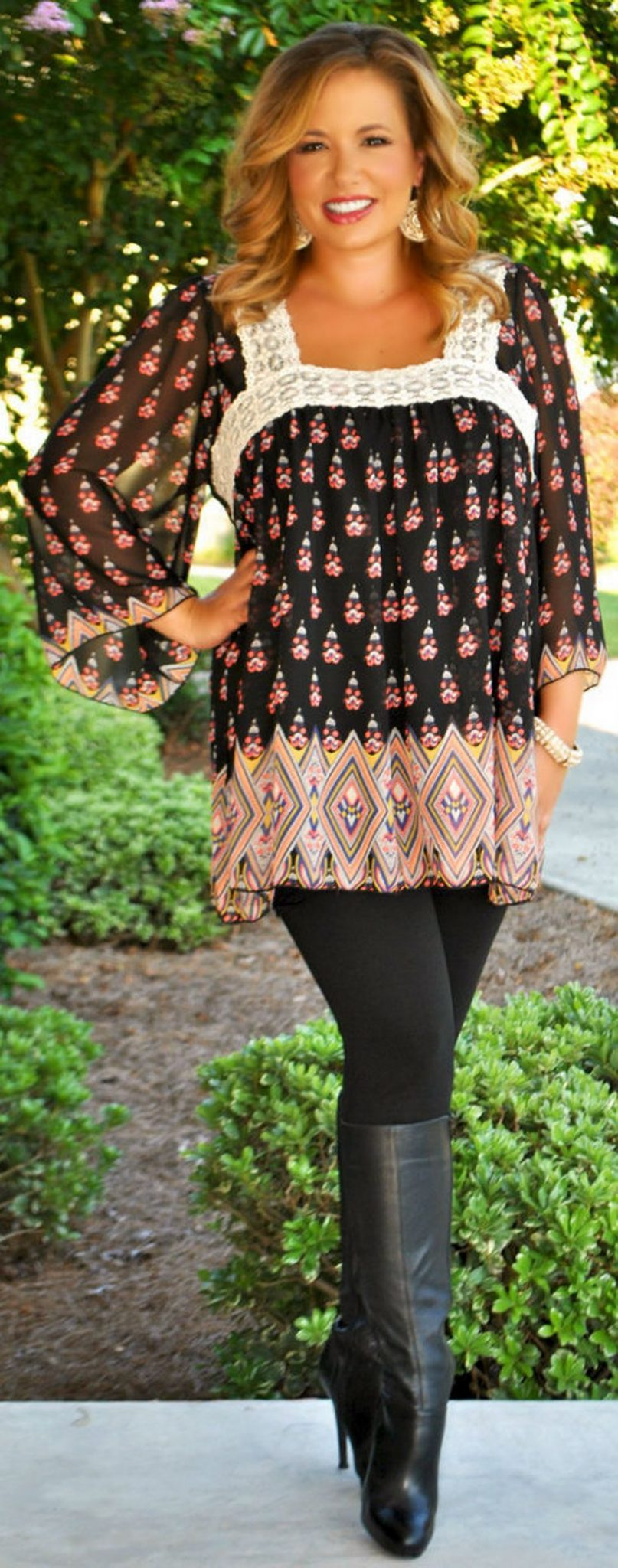 Stylish plus size outfits for winter 2017 110